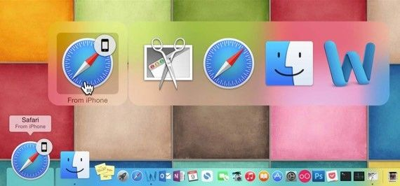 Handoff påMac