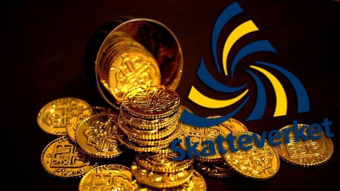 Mynt och Skatteverket-logga