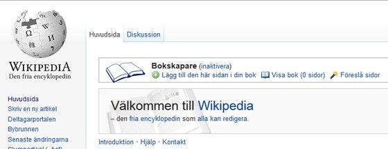 wikipedia e-bok
