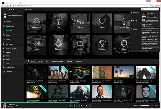 Tidal vs Spotify: Så bra är den nya musiktjänsten jämfört med