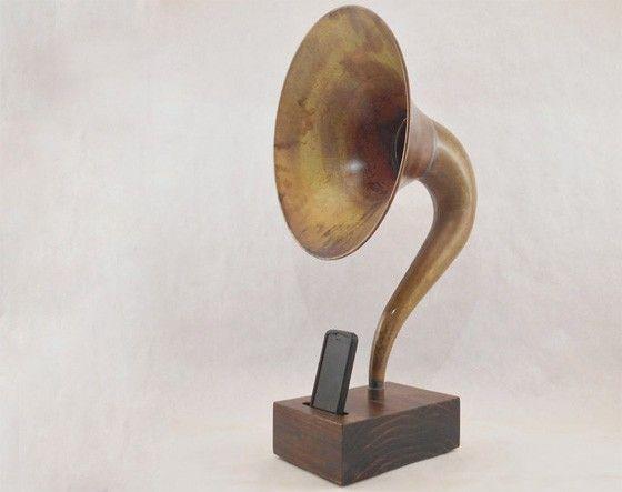 Gramofon för smartphone
