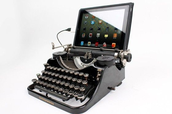 Skrivmaskin till iPad