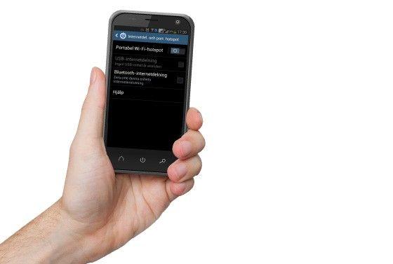 Mobil portabel hotspot