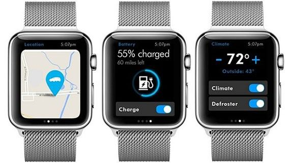 Volkswagen på Apple Watch