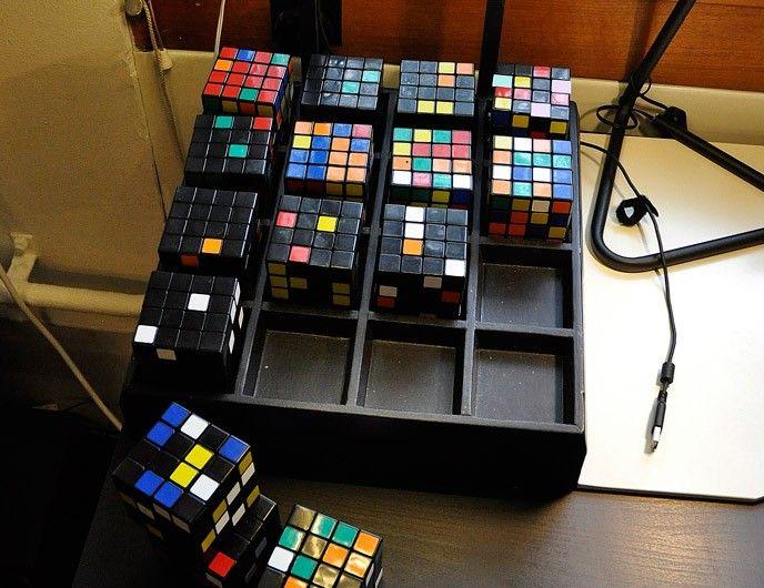 Rubiks kub instrument