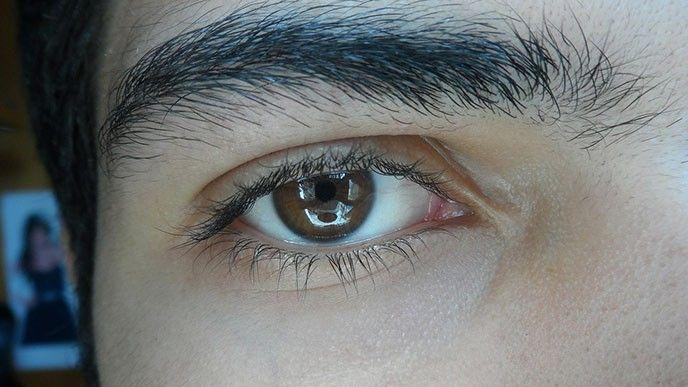 Öga i närbild