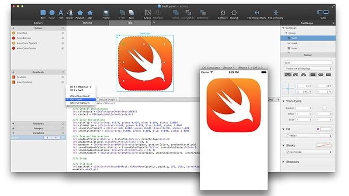 Apples Swift för öppen källkod