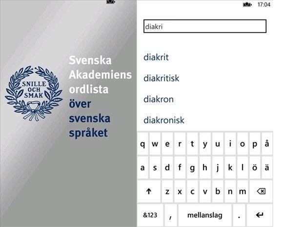 saol svenska ord