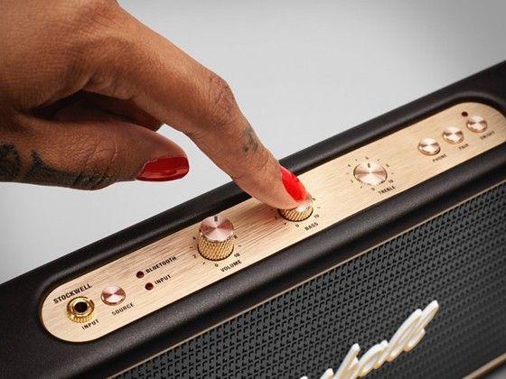 stockwell Marshall behåller formspråket från de gamla klassiska  gitarrförstärkarna. 36c68d878c168