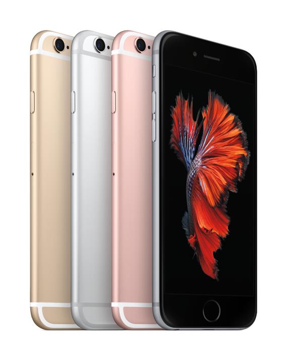 Iphone 6S färger