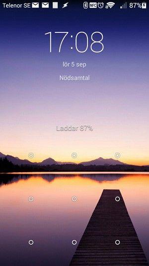 Lura skärmen. För att gå förbi låset på en spräckt skärm kan du använda en vanlig mus.