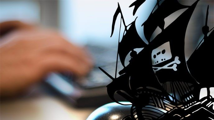 Blockering Pirate Bay