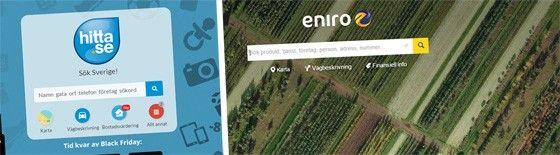 HItta.se och Eniro.se