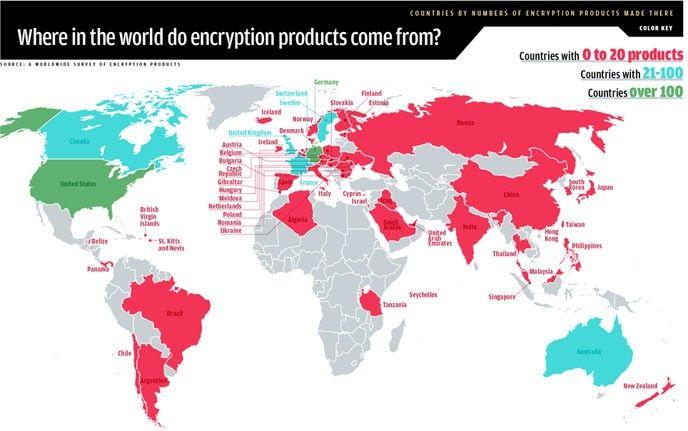 krypteringskarta