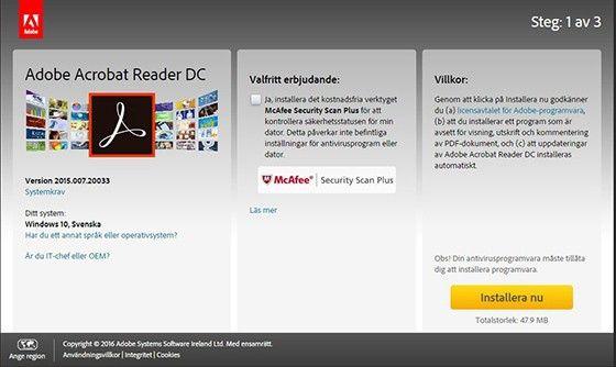 acrobat reader gratis windows 10