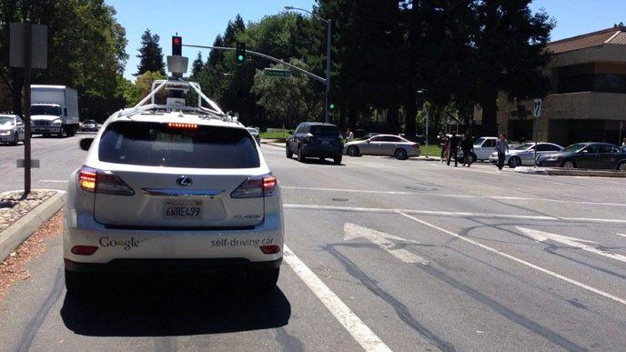 Google självkörande bil