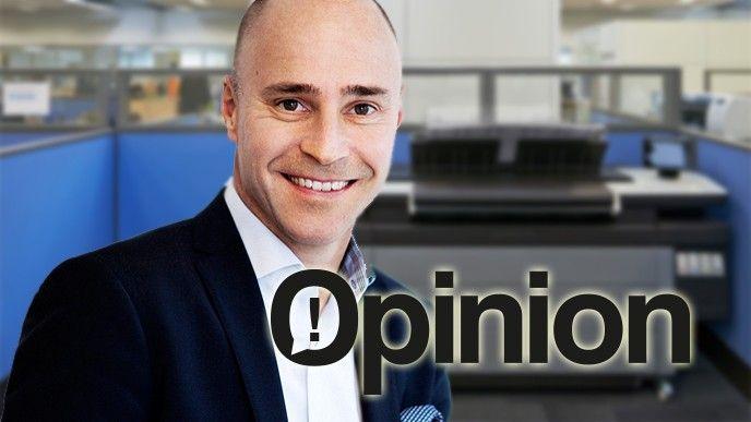 Stefan Berglund Affärsområdeschef print, HP