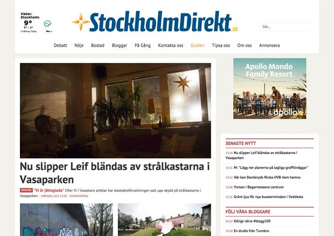stockholm direkt