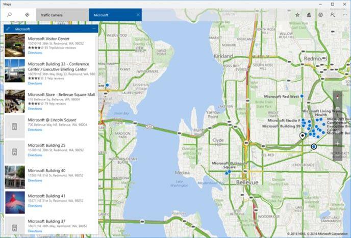 Microsoft Maps