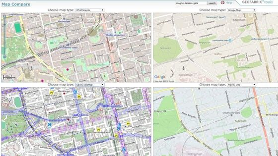 Mapcompare