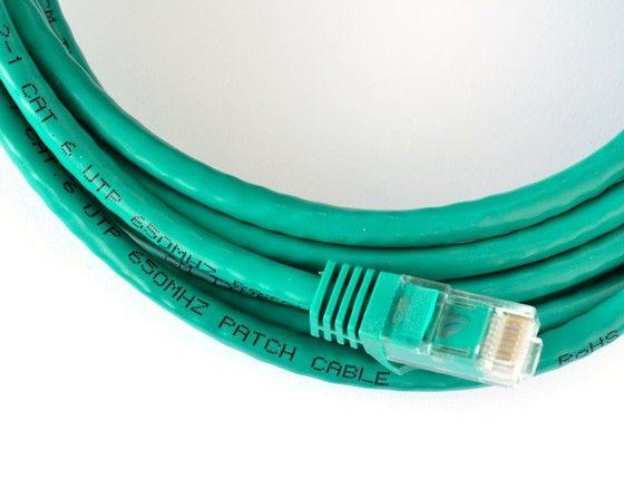 Ethernet-kabel.