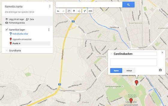 Egen Google Karta Pc For Alla