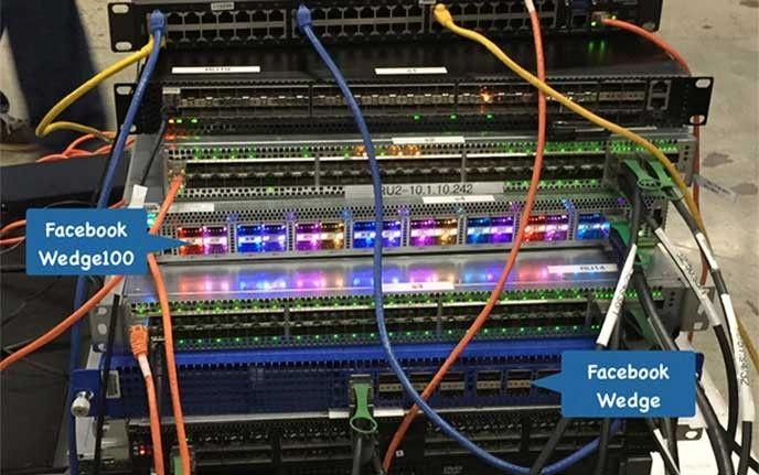 Nätverksväxel Facebook