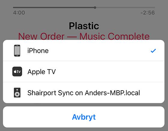 Shairport Sync