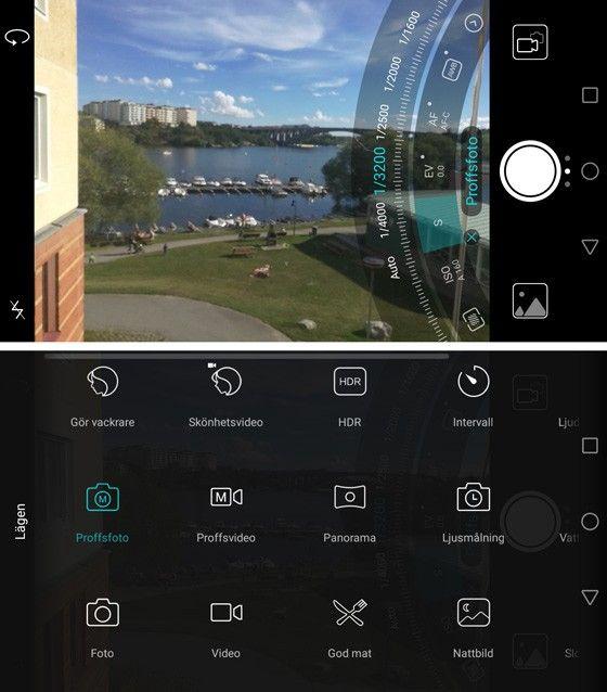 Huawei Honor 8 kameraapp