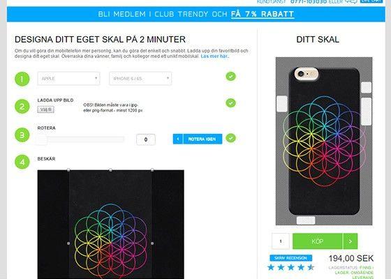 3656134d Här kan du designa ett eget mobilskal med din egen bild - PC för Alla