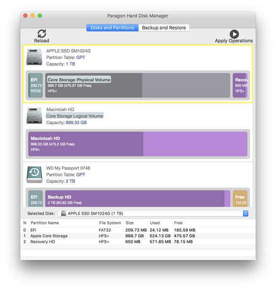 En skärmdump från verktyget.