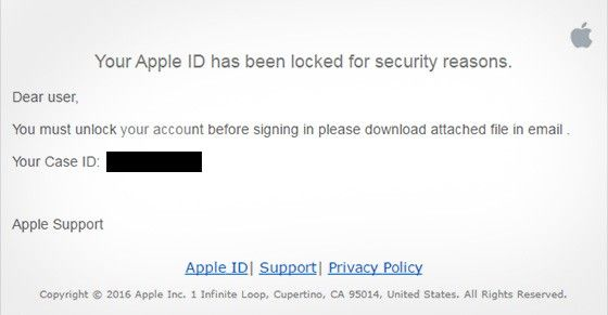 Apple scam