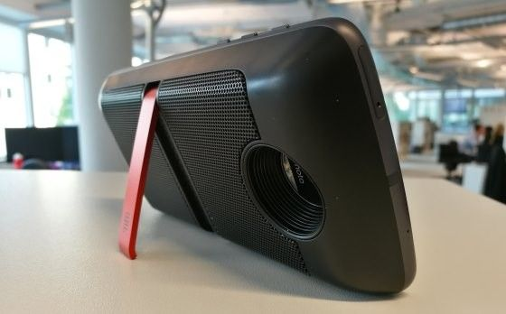 Moto Z med JBL Soundboost