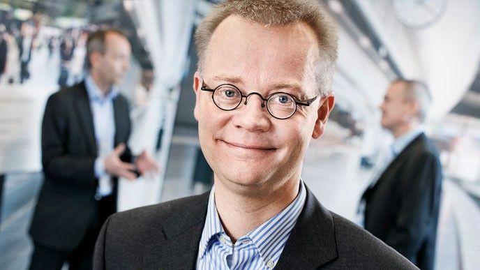 Jonas Hansson, cio på Axis.