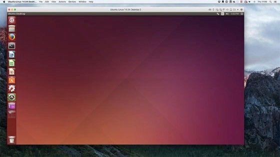 Ubuntu Linux i virtuell maskin
