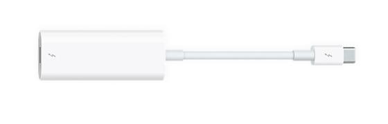 Thunderbolt 3 (usb-c) till Thunderbolt 2-adapter
