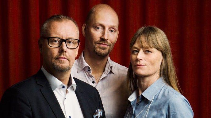 Peder Sjölander, Daniel Andersson, Lena Mahlberg, Pensionsmyndigheten.