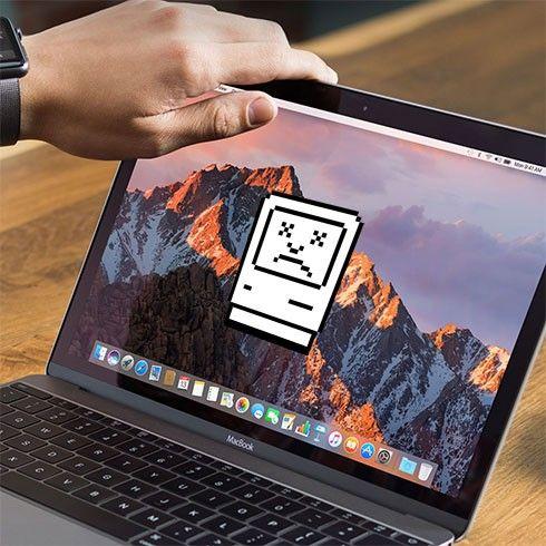 min mac dator startar inte