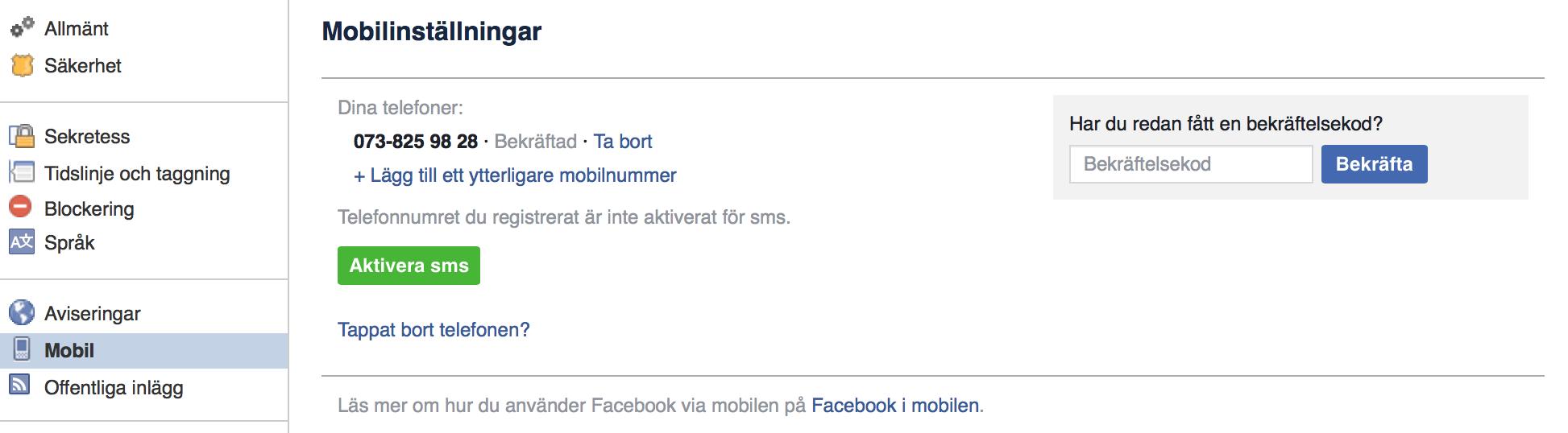 avslutte facebook konto erotisk kontakt