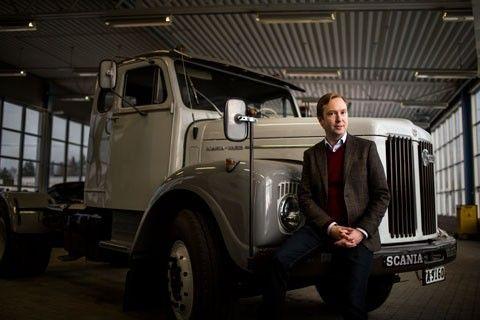 Fredrik Kaldéus, CFO på Scania-Bilar
