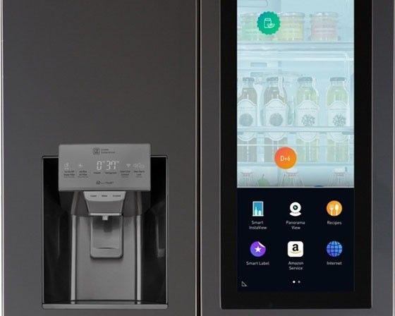 """LG:s """"smarta"""" kylskåp"""
