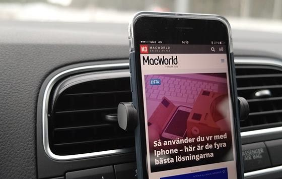 Xtand Vent mobilhållare iphone