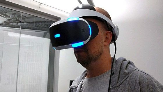 VR glasögon - Playstation VR