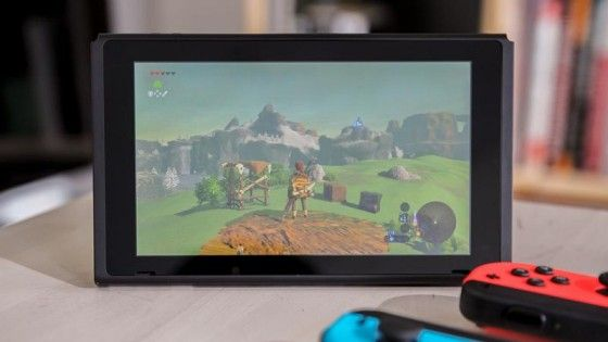 Nintendo Switch Bordsläge