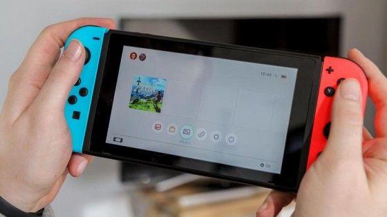 Nintendo Switch Bärbar