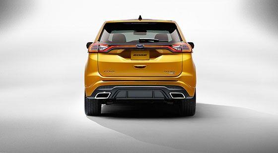 Ford Edge test