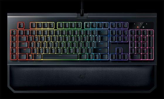 Gaming tangentbord Chroma Blackwidow Chroma v2