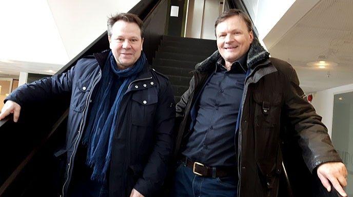 Leif Eriksson och Peter Karlsson.