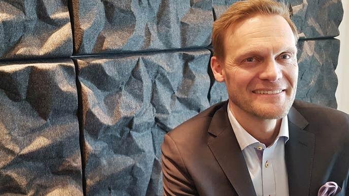 Johan Klintberg, vd på Saab Digital Air Traffic Solutions