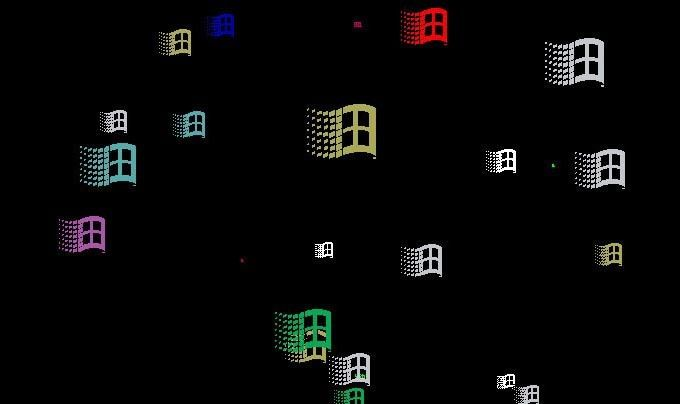 Skärmsläckare, Windows